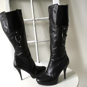 Guess Leather Stiletto boots size 10